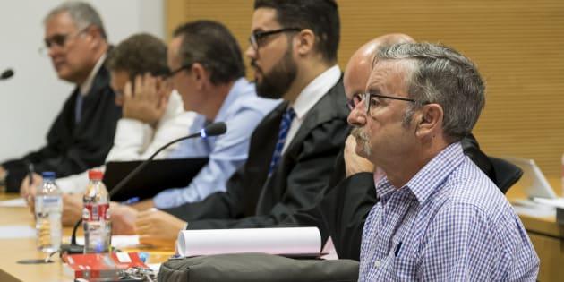 Imagen durante el juicio