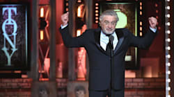 Robert De Niro Says 'F**k Trump' Twice At Tony