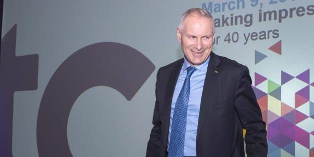 Le président et chef de la direction de TC Transcontinental, François Olivier.
