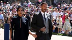 Victoria Beckham sí se divirtió en la boda real (pese a sus