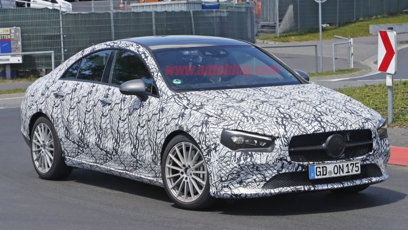 Mercedes benz cla class spied almost ready for production for Mercedes benz offers