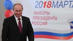 Putin arrasa en las elecciones rusas con más del 70% de los