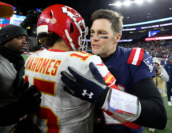 Mahomes says convo with Brady helped propel Chiefs