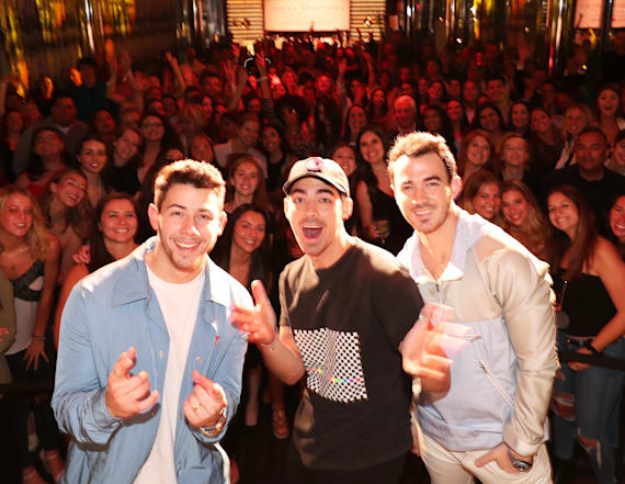 Inside the Jonas Brothers' listening party