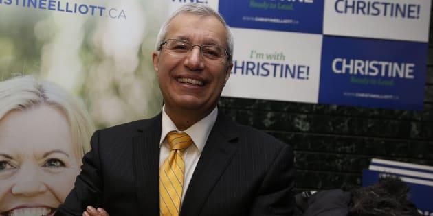 Ontario MPP Vic Fedeli in 2015.