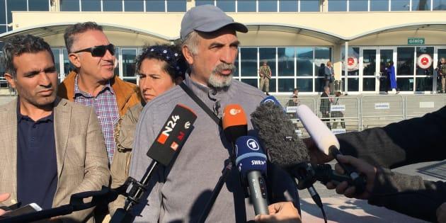 Ali Riza Tolu, père de la journaliste allemande Mesale Tolu