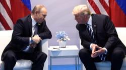 Les images de la première rencontre entre Trump et Poutine au