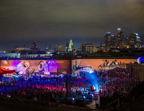 Netflix chef puts his stamp on new LA music festival