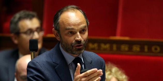 Edouard Philippe à l'Assemblée nationale le 26 septembre 2017.