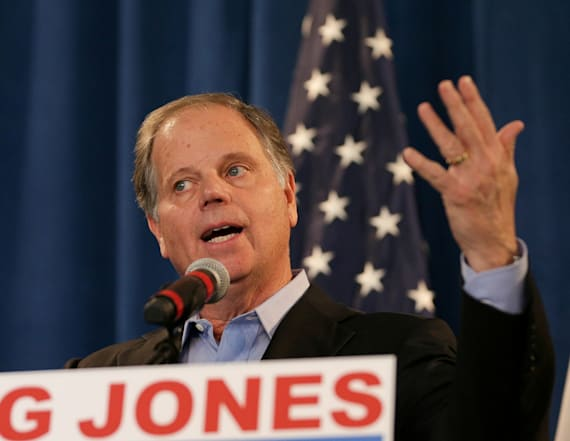 Doug Jones not joining calls for Trump resignation