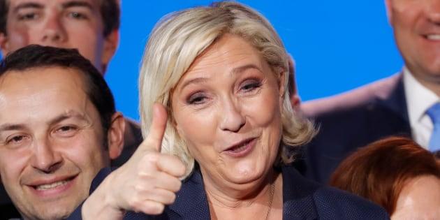 Marine Le Pen a trouvé un point positif à l'accord européen sur les migrants