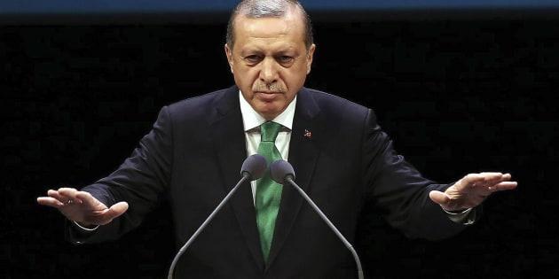 """L'Allemagne annule deux meetings pro-Erdogan qui fait un """"point Godwin"""""""