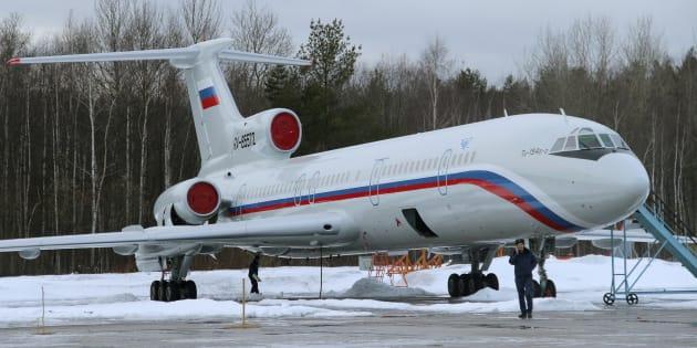 """(Photo d'illustration) Le crash de l'avion russe en mer noire dû à à un """"fonctionnement anormal"""" de l'appareil"""