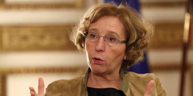 Muriel Pénicaud dans son bureau à Paris, le 15 novembre.