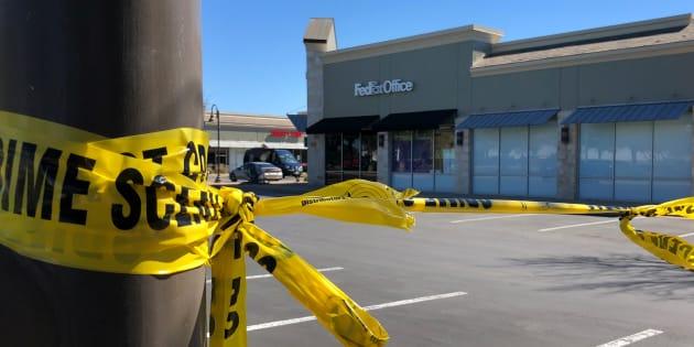 L'auteur présumédeplusieurs attentats à la bombe au Texas se fait exploser devant la police