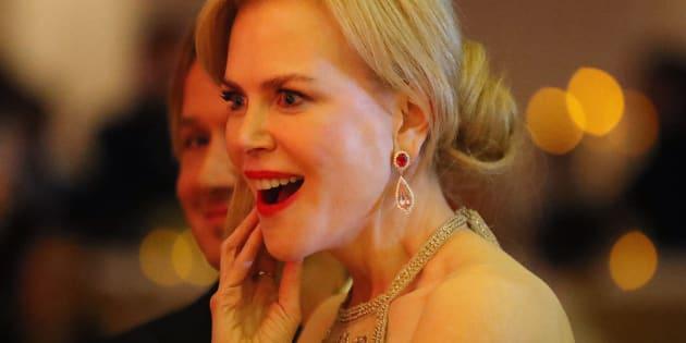 Nicole Kidman le 26 février 2017 à Hollywood.