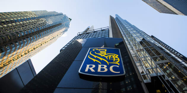 A Royal Bank of Canada (RBC) logo is seen on Bay Street in the heart of the financial district in Toronto, Jan. 22, 2015.