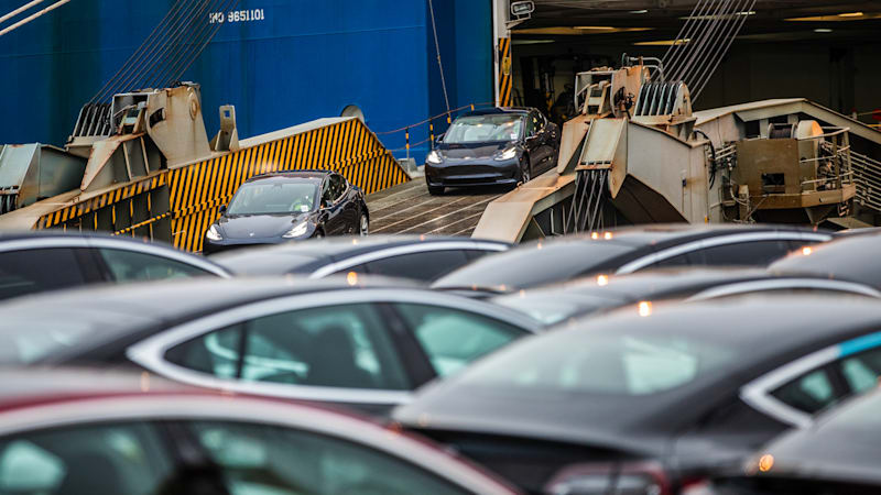 Oslo Norway Almost 60 Percent Of All New Cars Sold In March Were Fully Electric The Norwegian Road Federation Nrf Said On Monday