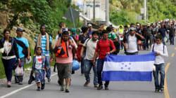 Una caravana más de Honduras a Estados Unidos para escapar de la