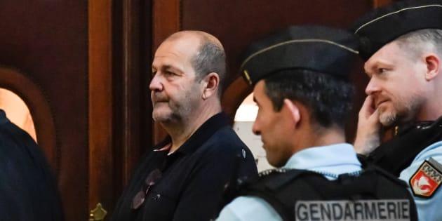 Pierre Paoli arrivant à son procès à Paris le 11 juin 2018.