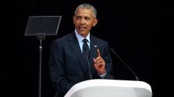 VIDEO: Las conmovedoras palabras de Obama durante el discurso de Nelson