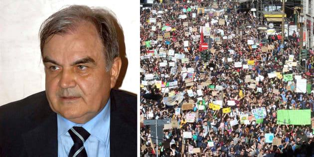 Franco Prodi |   Giusta la protesta dei ragazzi |  ma i cambiamenti del clima sono