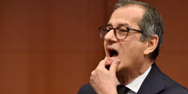 """Giovanni Tria difende la manovra: """"Il deficit era neces"""