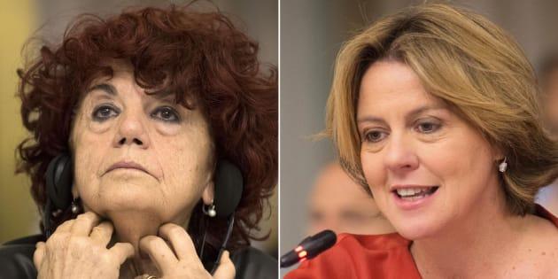 Risultati immagini per ministre fedeli lorenzin donne pulizie