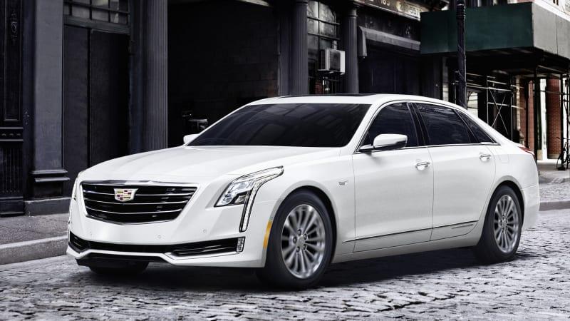 2017 Cadillac CT6 Plug-In Hybrid Drivers