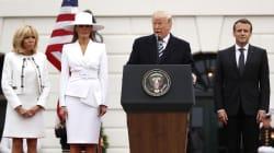 Trump rend hommage à Arnaud Beltrame devant