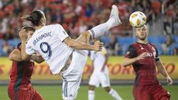 Le but d'extraterrestre de Zlatan pour sa 500e réalisation en