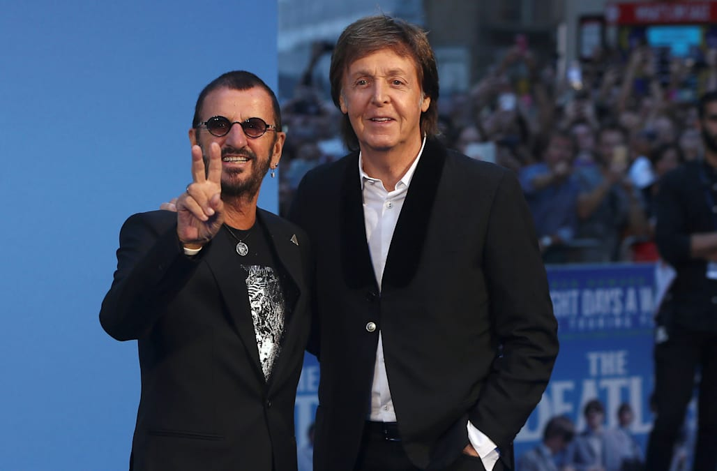 Sir Paul McCartney Posted Congratulations On Social Media Saturday Dec 30 To Fridays Official Announcement That Beatles Drummer Ringo Starr Would Be