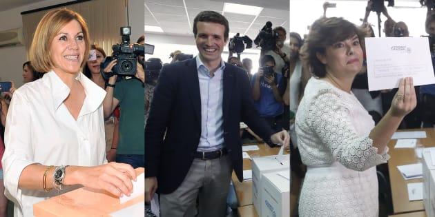 Resultado de imagen de La participación en las primarias del PP es del 35% a las 13.00 horas