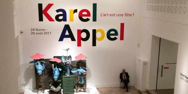 Avec Karel appel, l'art est une fête