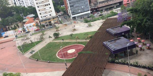Praça Roosevelt passou de um local perigoso para um dos locais mais vibrantes de São Paulo.