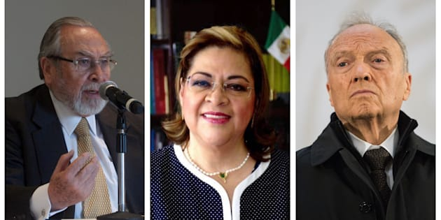 Bernardo Bátiz Vázquez, Eva Verónica de Gyvés Zárate o Alejandro Gertz Manero se podría convertir en el primer fiscal general de la República.