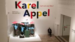 Avec Karel Appel, l'art est une