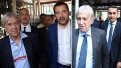Sfrattato l'imprenditore fallito per i crediti non pagati dallo Stato. Salvini: