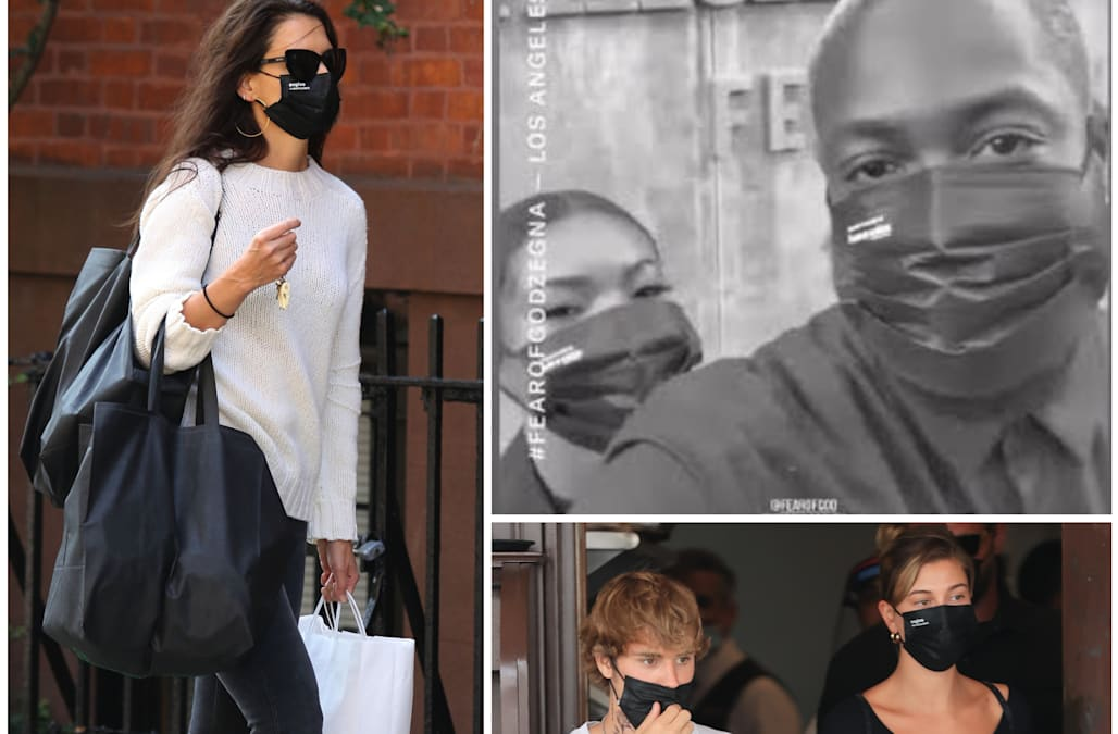 Over 20 celebrities are wearing these affordable face masks — from Emily Ratajkowski to Dwyane Wade