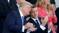BLOG - 3 raisons pour lesquelles le 14-juillet aura été un succès pour Emmanuel Macron et Donald