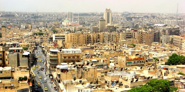 [UNVERIFIED CONTENT] View from Aleppo Citadel, Syria May 2009.