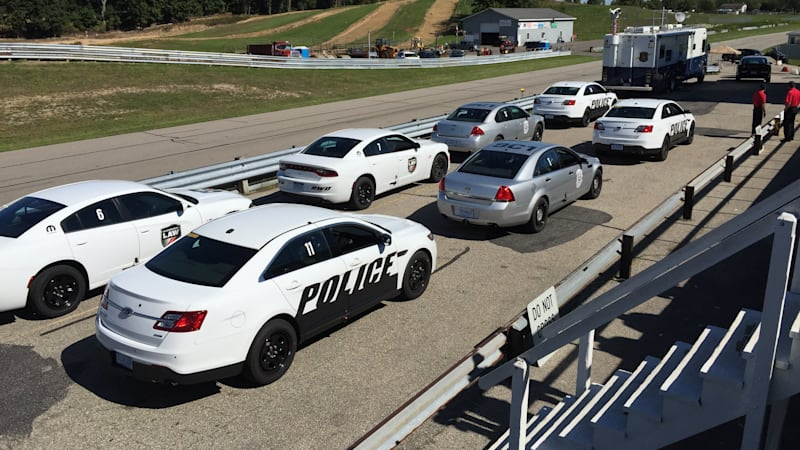 Ford Taurus Sho 0-60 >> Ford Police Interceptor Quickest To 60 Mph Autoblog