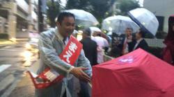 立憲民主党、東京で新人を当選させたかった。