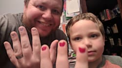 Dad Paints His Nails In Solidarity With Bullied 5-Year-Old