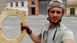 5 meses en bici recorriendo España y recogiendo basura con el proyecto Miss