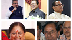Election Results 2018: How Chief Ministers Of Each State Are