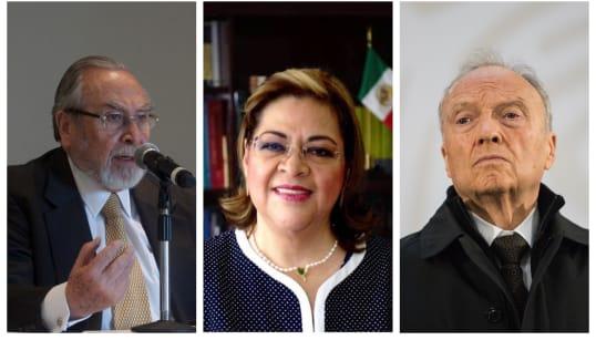 """Y la terna de """"incorruptibles"""" de AMLO para ser fiscal general"""
