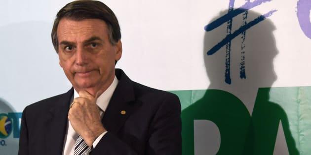 Deputado Jair Bolsonaro (PSC-RJ) anuncia intenção de se candidatar à Presidência da República em 2018.