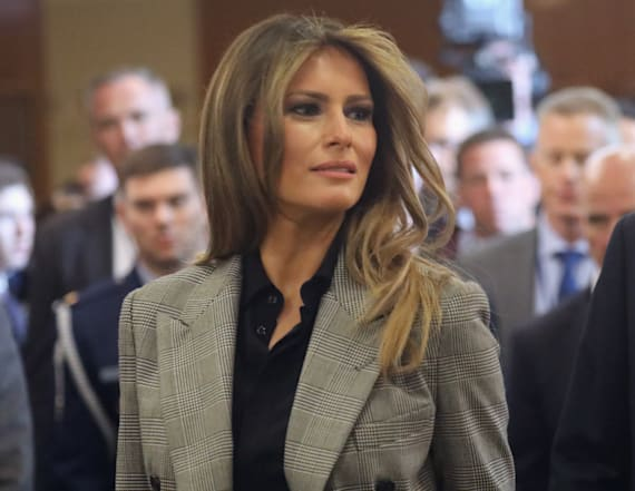 Melania Trump to condemn bullying at UN luncheon