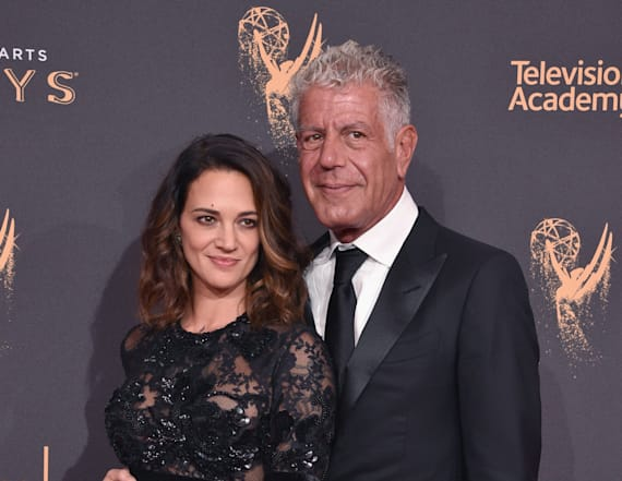Asia Argento felt 'anger' toward Bourdain